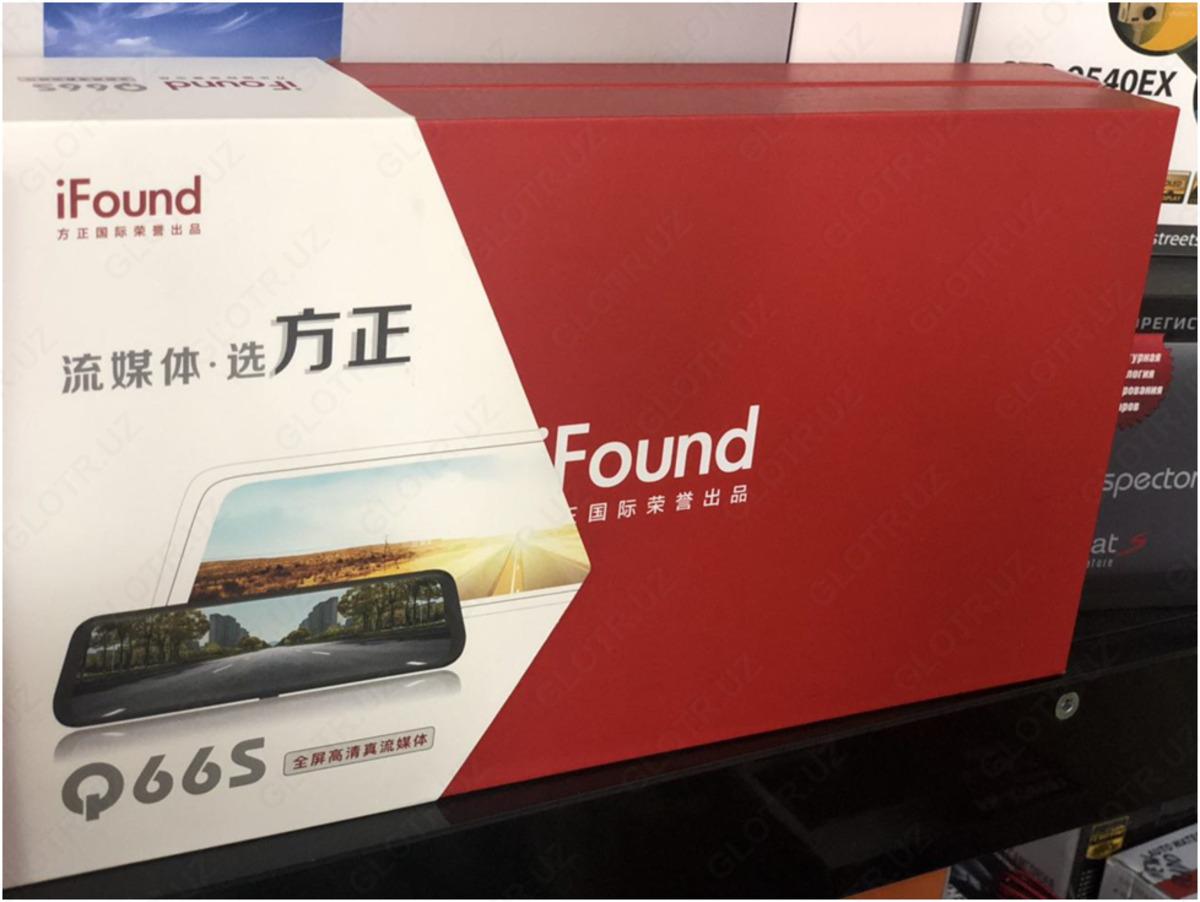 Ifound q66s видеорегистратор цены