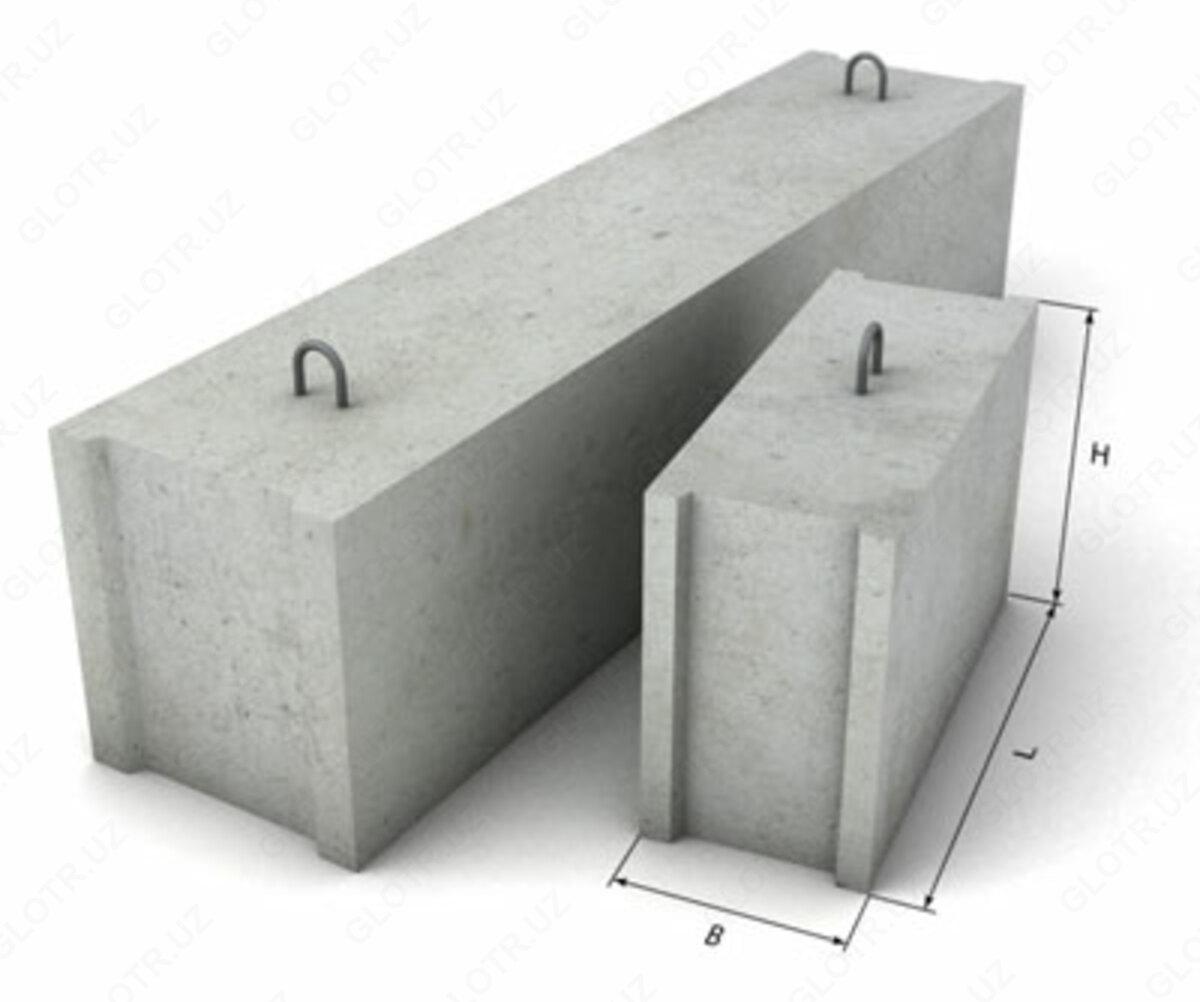 бетона блоки цена